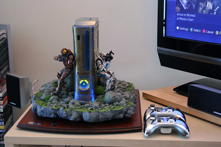 Incredible Halo Themed Xbox 360 Diorama TechEBlog