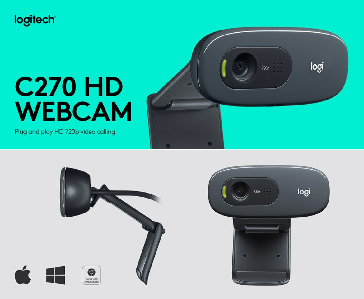 Don't Pay $40, Get Logitech's C270 Desktop or Laptop Webcam for $27.99  Shipped – Today Only – TechEBlog
