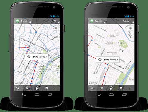 Google_Map_Update_Transit