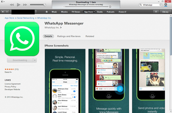 iTunes_WhatsApp