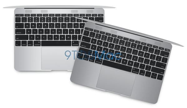 Apple MacBook Air 12 Inch Render Image