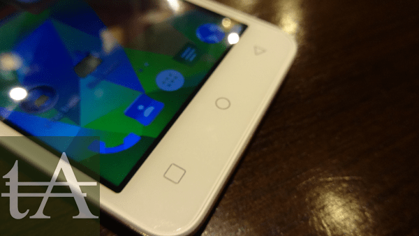 Micromax Canvas Spark Touch Buttons