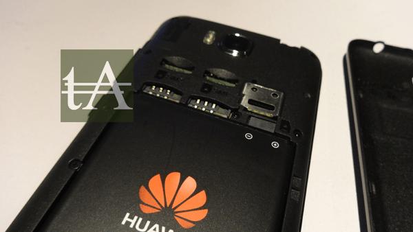 Huawei Honor Bee Battery SIM Slots