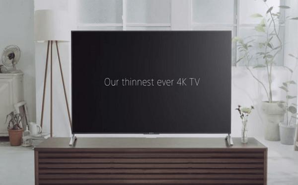 Sony Slimmest TV
