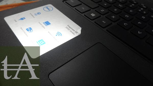 GreenDust Dell Laptop Details