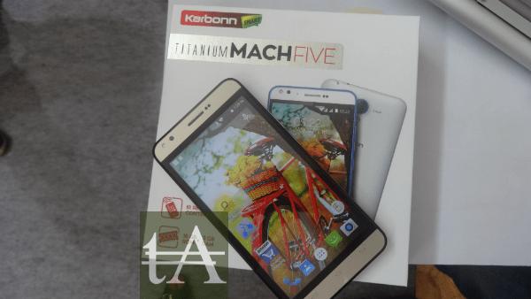 Karbonn Titanium Mach Five Box