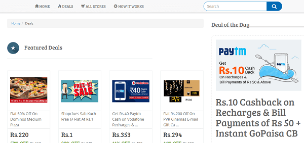 GoPaisa Web UI