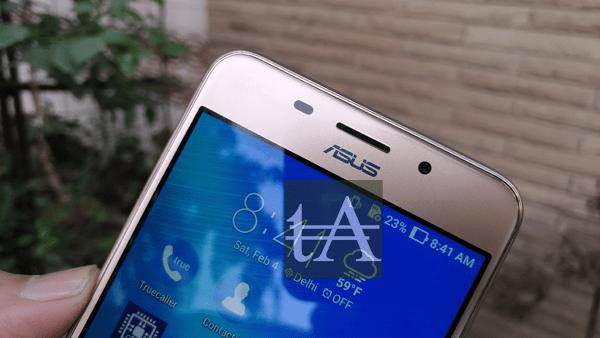 Asus Zenfone 3S Max Front Camera