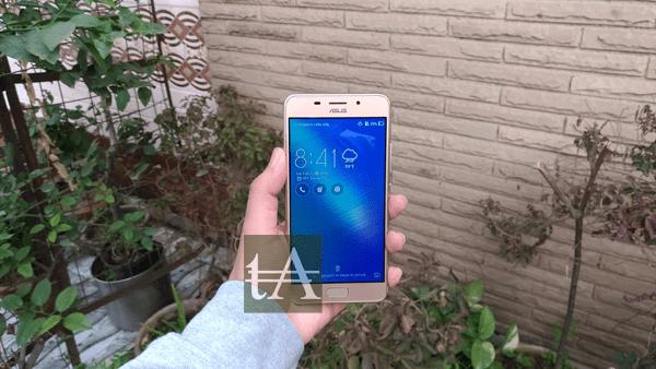Asus Zenfone 3S Max Front
