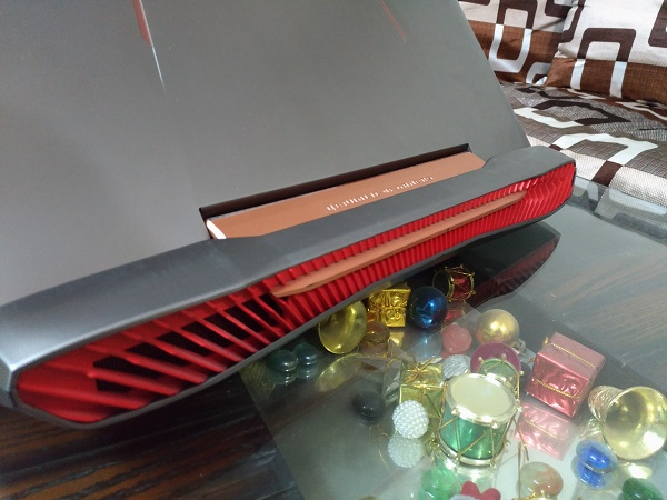 Asus ROG G752VS Ventilation