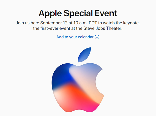 Apple iPhone 8 Event