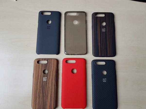 OnePlus 5T Leak Cases