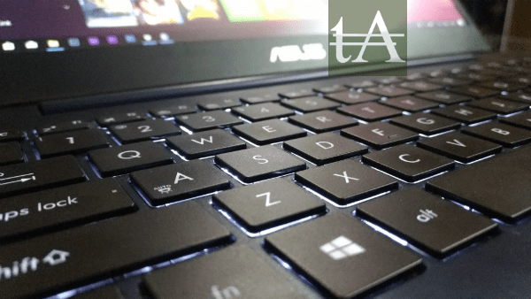 Asus ZenBook UX430 Keys Logo
