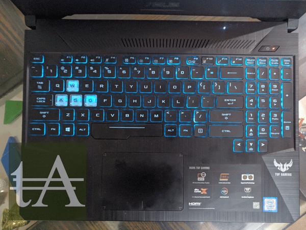 Asus TUF FX505 Keyboard
