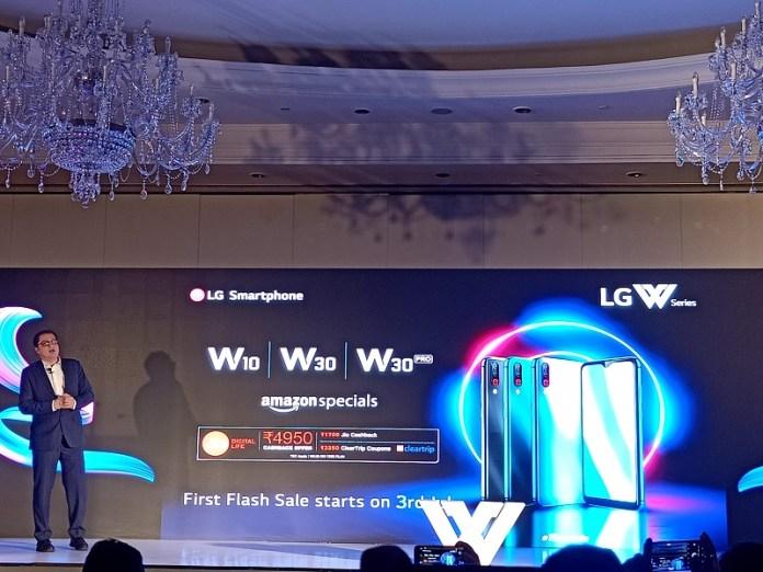 LG W10 W30 W30 Pro Launch