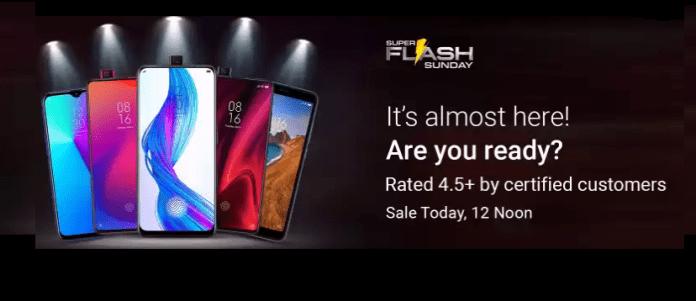 Flipkart Super Flash Sunday Sale