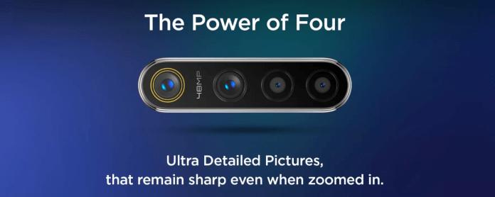 Realme 5s Quad Camera Render