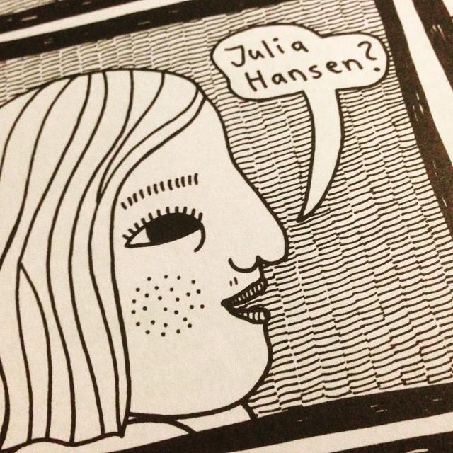"""Instagram media by litteraturmagazinet - Uppropad i väntrummet på kvinnokliniken. Ur Julia Hansens """"Det växer"""". #serier / #seb_lm"""