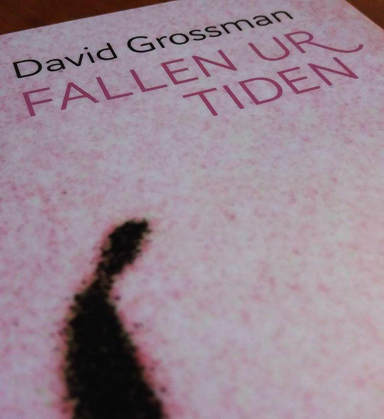 """Har aldrig läst någon bok som ens liknar David Grossmans """"Fallen ur tiden"""" Om kentauren, en författare som växt ihop med sitt skrivbord. Om mannen som ger sig av till dödsriket för att återse sin son. Om en stad där alla har förlorat sitt barn, berättat av en krönikör som fått order om att inte minnas sin dotter. Berättat genom en vild blandning av prosa, pjäs och poesi. #litteratur #böcker #läsning #sorg #davidgrossman #fallenurtiden"""