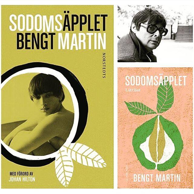 """Sååå glad att Bengt Martins """"Sodomsäpplet"""" blev årets bok i Stockholm läser - och att den kommer i lättläst!! #bengtmartin #stockholmläser #hbtqböcker #sodomsäpplet #lättläst"""