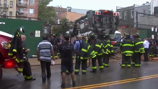 [TLMD - NY] Desesperado rescate de trabajador hispano en Brooklyn