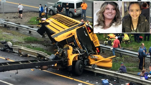 [TLMD - NY] Conductor de bus escolar se entrega y enfrenta cargos