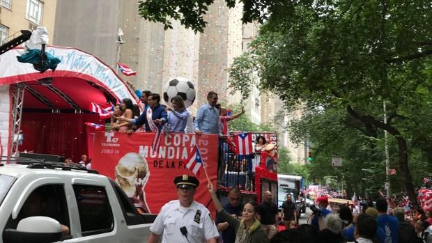 Los mejores momentos del Desfile Nacional Puertorriqueño