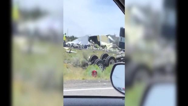 [TLMD - LV] Reportan varios muertos en aparatoso accidente en Nuevo México