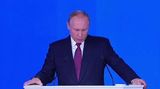 Reelegido Vladimir Putin como presidente de Rusia
