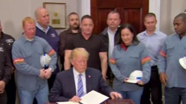 [TLMD - MIA] Trump firma aranceles a la importación de acero y aluminio