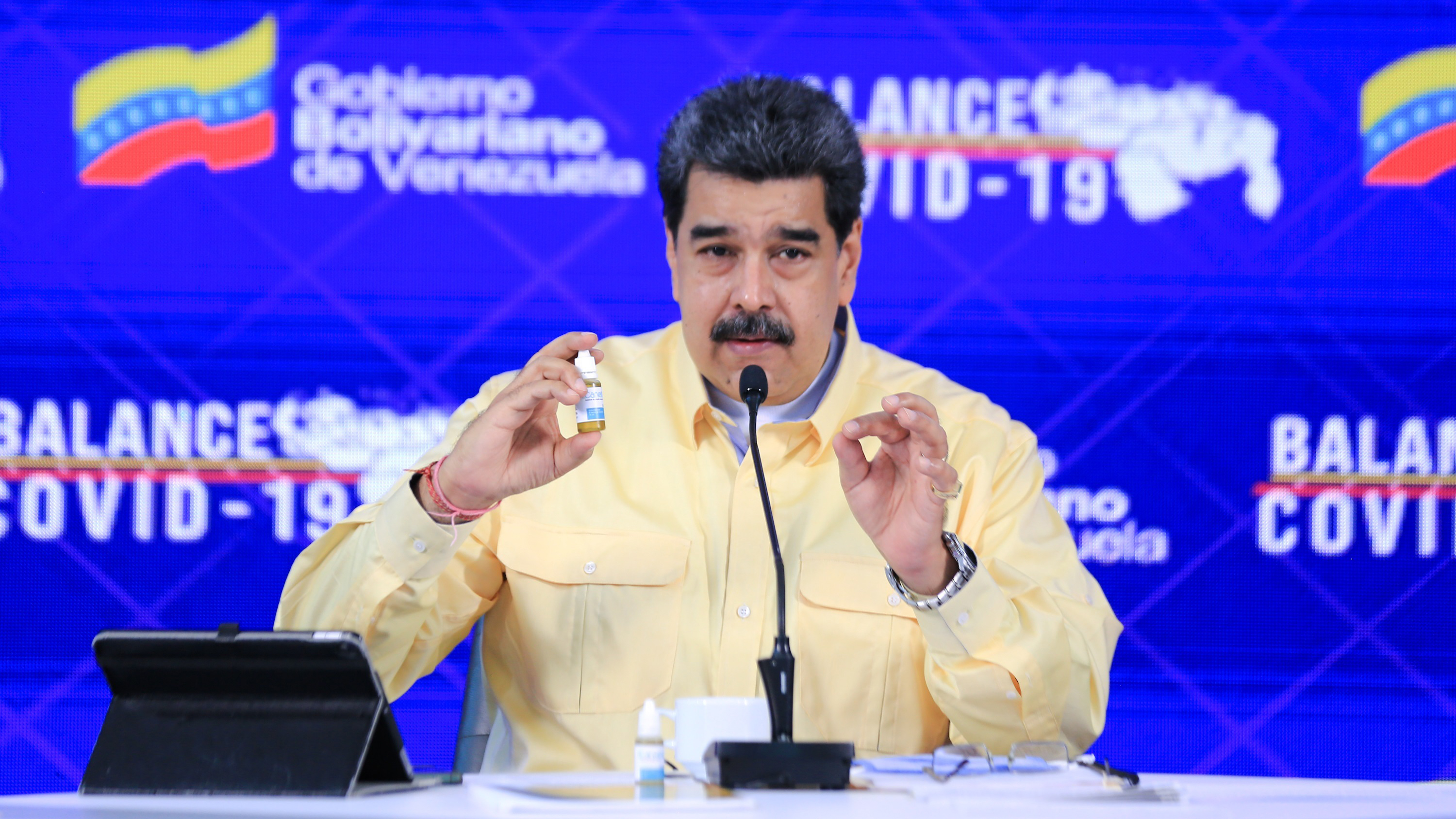 Maduro presents drug allegedly neutralizing COVID-19 – Telemundo Denver