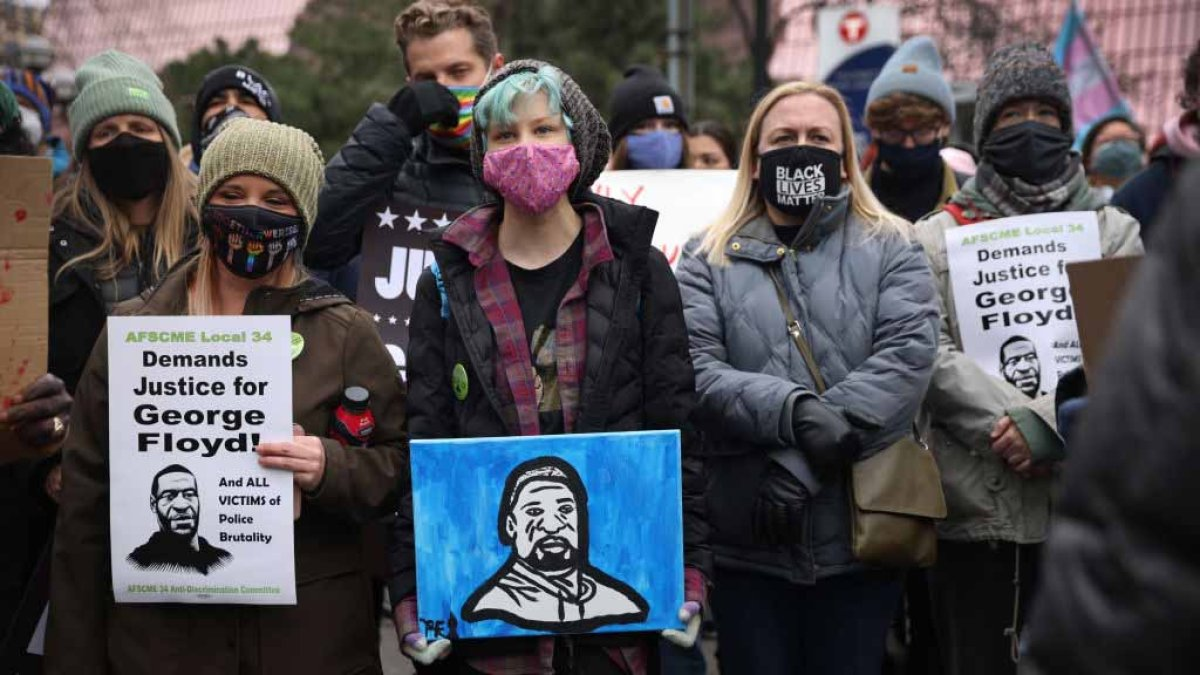 US braces for possible protests after Derek Chauvin trial ruling