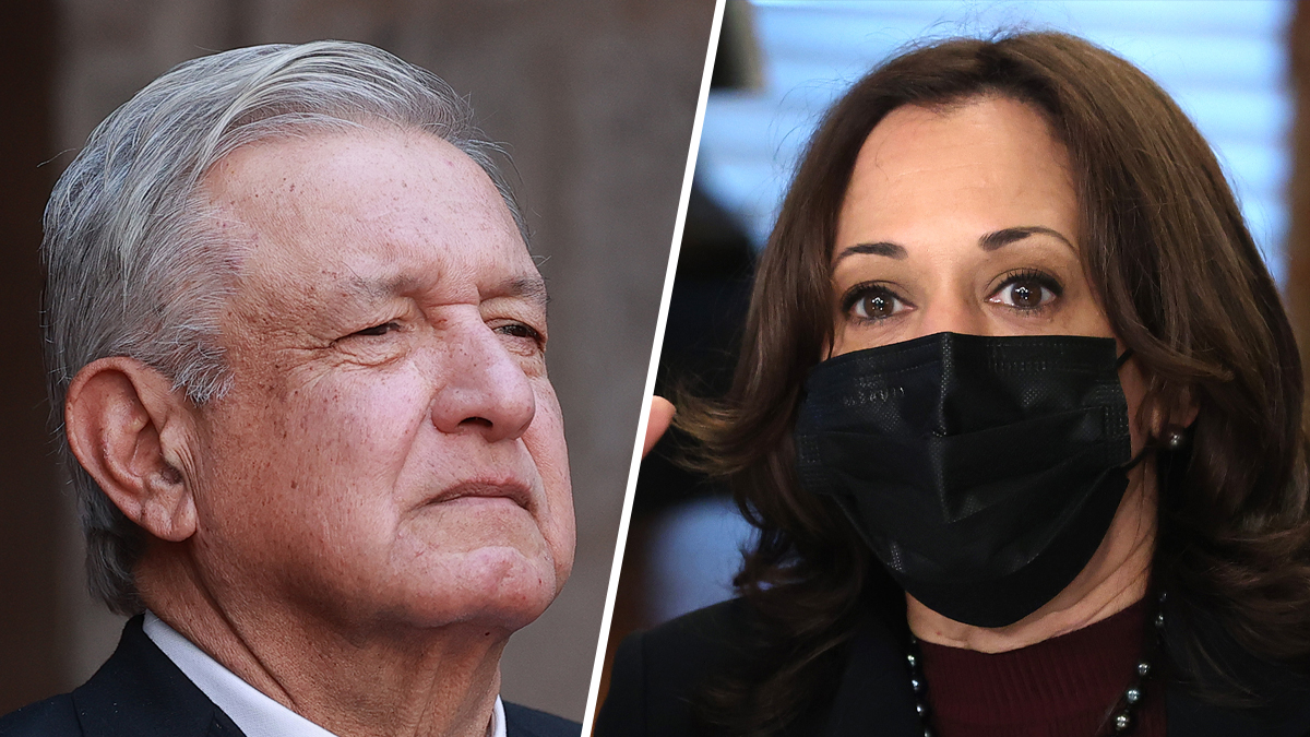 Kamala Harris will have virtual meeting with the president of Mexico