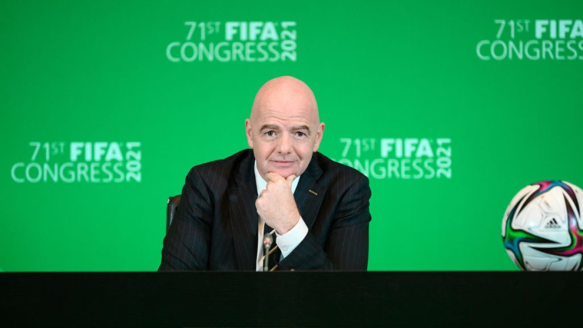 FIFA studies whether the World Cups can be held every two years