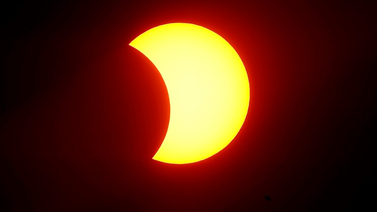 First solar eclipse of 2021 shows an impressive