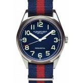Regimental bleu bracelet rouge et bleu Spalding, 185€