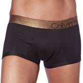 Lot de 2 Boxers Bold Holiday Cotton Noirs à Ceinture Brillante Calvin Klein Underwear