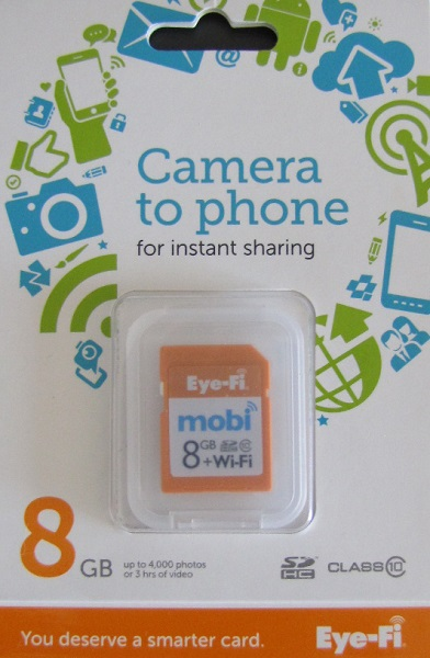 carte sd eye-fi mobi