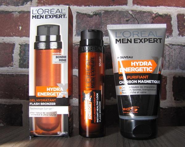 produits l'Oreal men expert