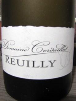 reuilly - mets vins