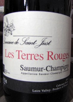 saumur champigny - reuilly - mets vins
