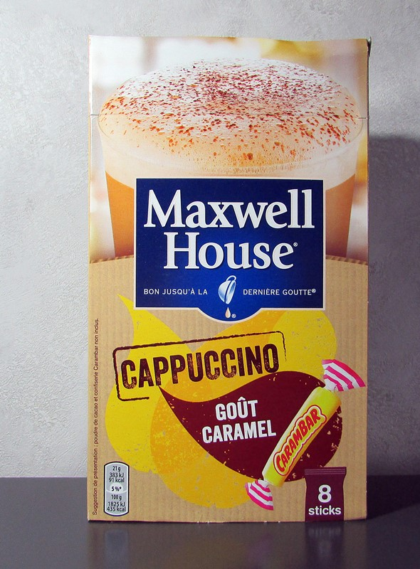 cappuccino maxwell house