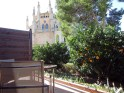 vue depuis la terrasse sur la gran cristina