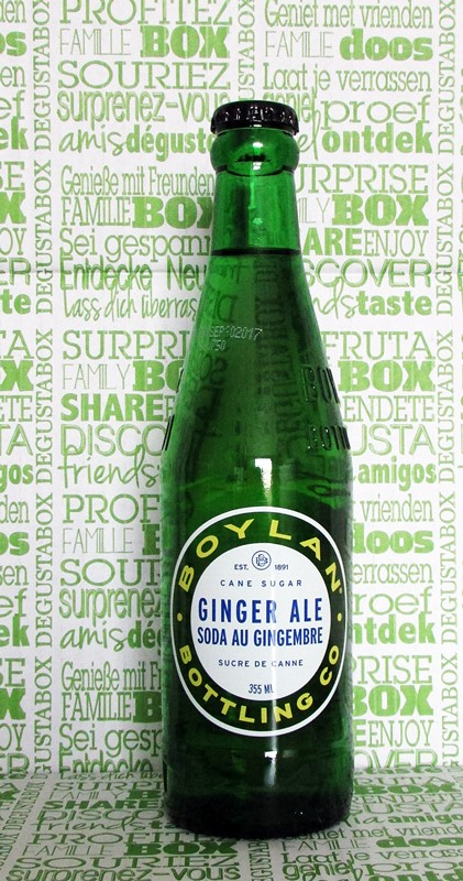 boylan ginger ale - degustabox