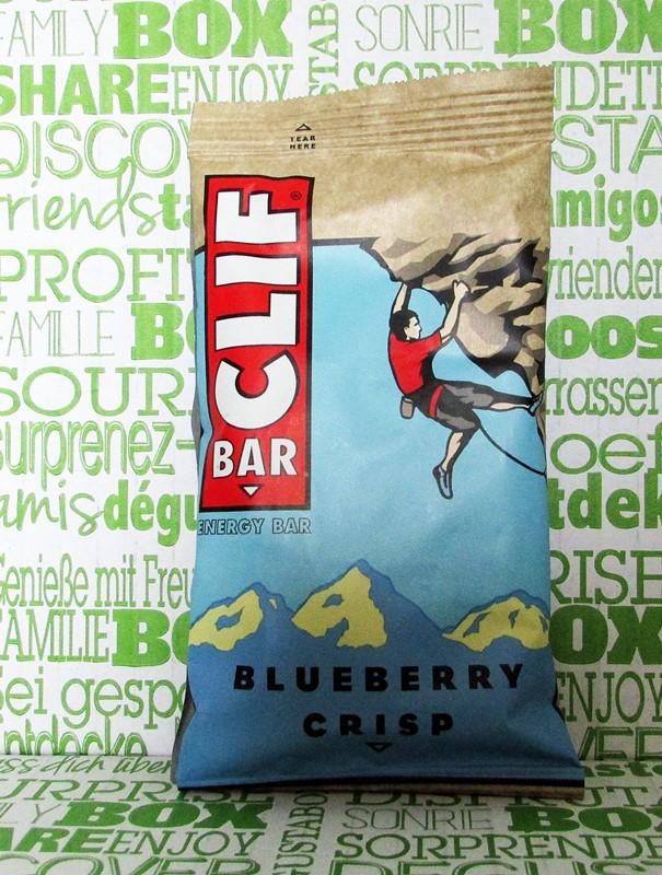 clif bar - degustabox