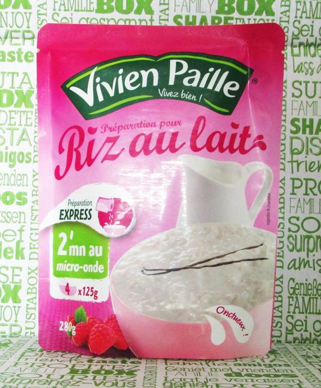 vivien paille riz au lait - degustabox
