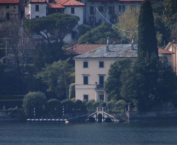 maison Georges Clooney lac de come