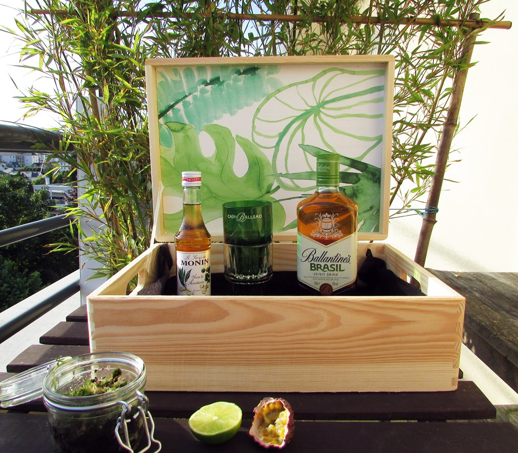 coffret tropical by Ballantine's Brasil