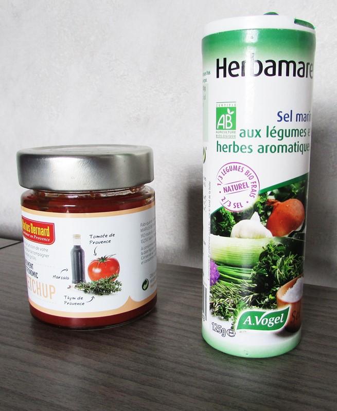 degustabox ketchup et sel marin