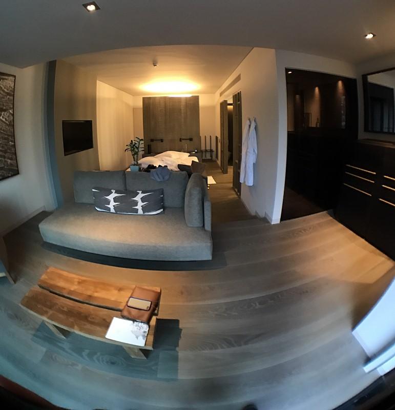 fisheye chambre